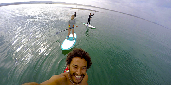 Stand up paddle trip Essaouira Morocco